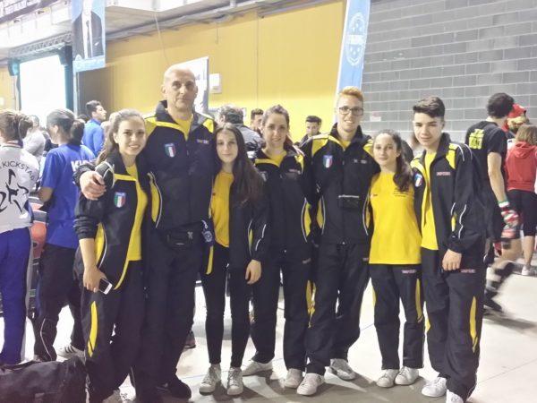 Campionati Assoluti Kick Boxing FIKBMS. Team Rinaldi Guidonia