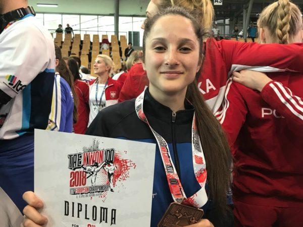 Taekwon-Do ITF European Championships Maribor 2018. Team Rinaldi Guidonia