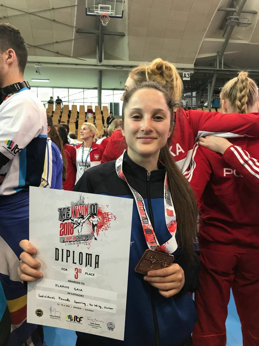 Taekwon-Do ITF European Championships Maribor 2018. Team Rinaldi Guidonia